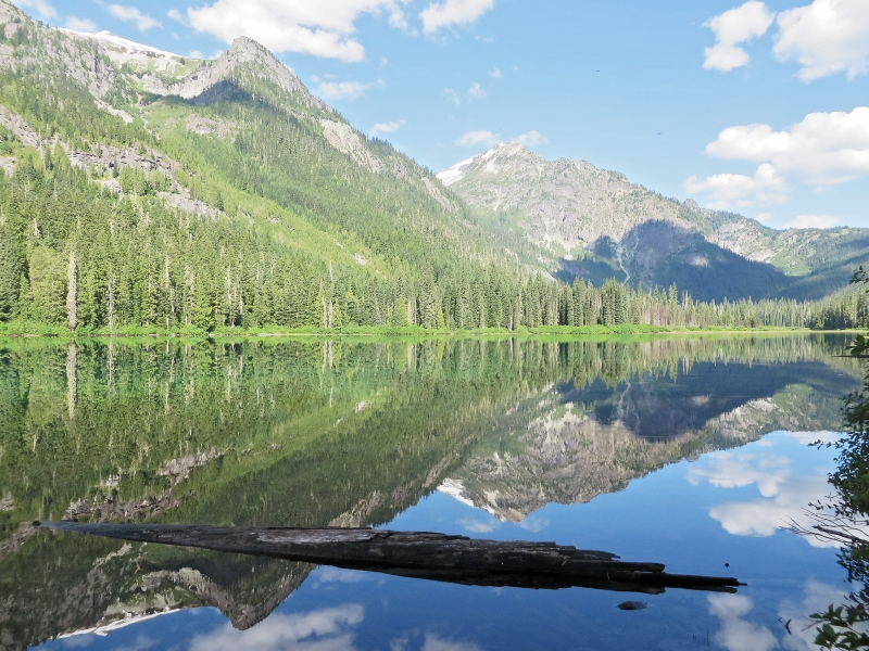 Hyas Lake June 13, 2015 (Howie) 13 lake reflect