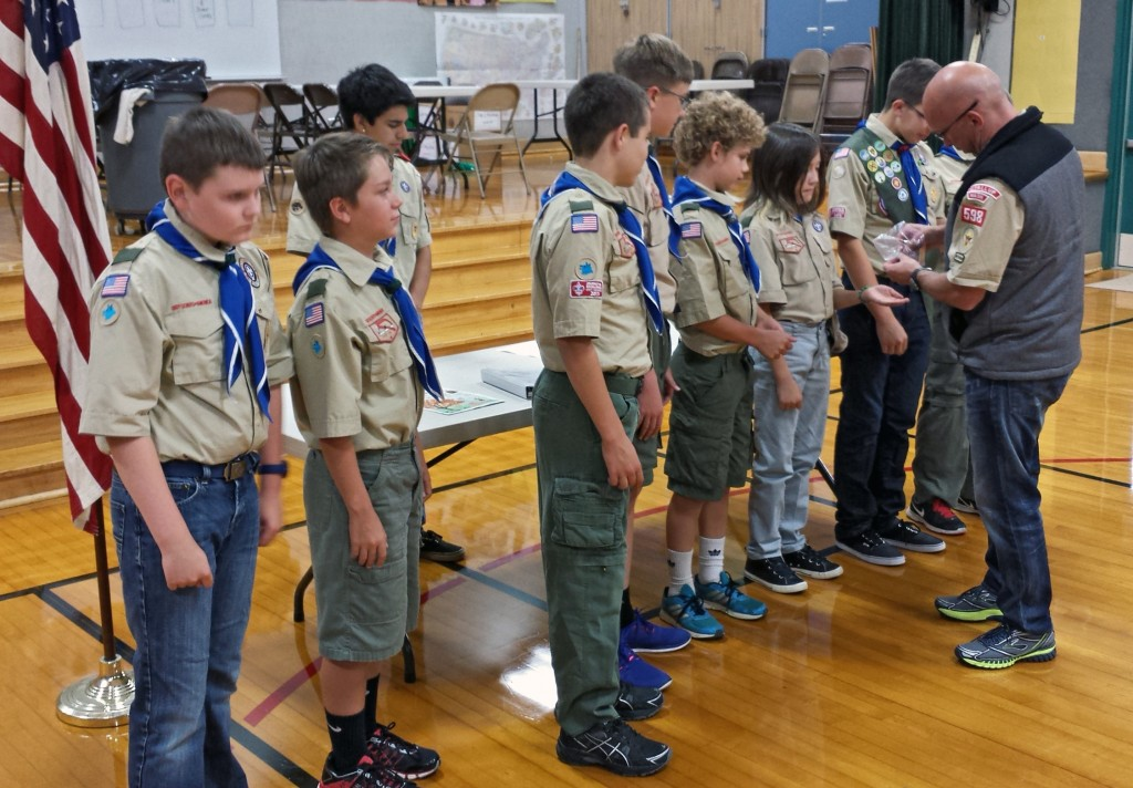 Scouts Summer Camp patches 20140908_190809